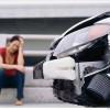 תאונת דרכים של הולך רגל
